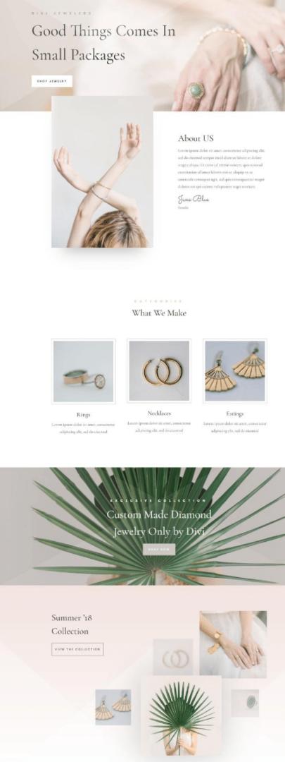 Jewelry Demo